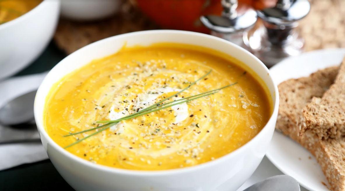 Hemp Pumpkin Soup
