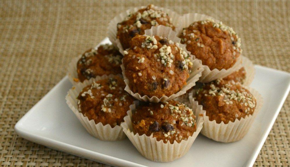 Pumpkin Hemp Muffin