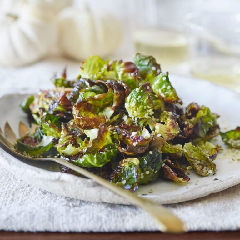 Brussel Sprouts with Hemp