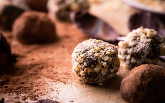 Double Rum Chocolate Hemp Truffles
