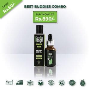Pack Of – 2 Best Buddies Combo (Hemp Seed Oil)