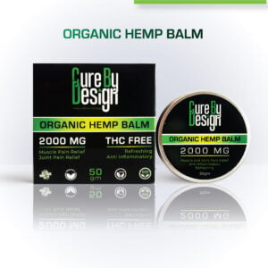 Organic Healing Hemp Balm – Infused with 2000mg CBD