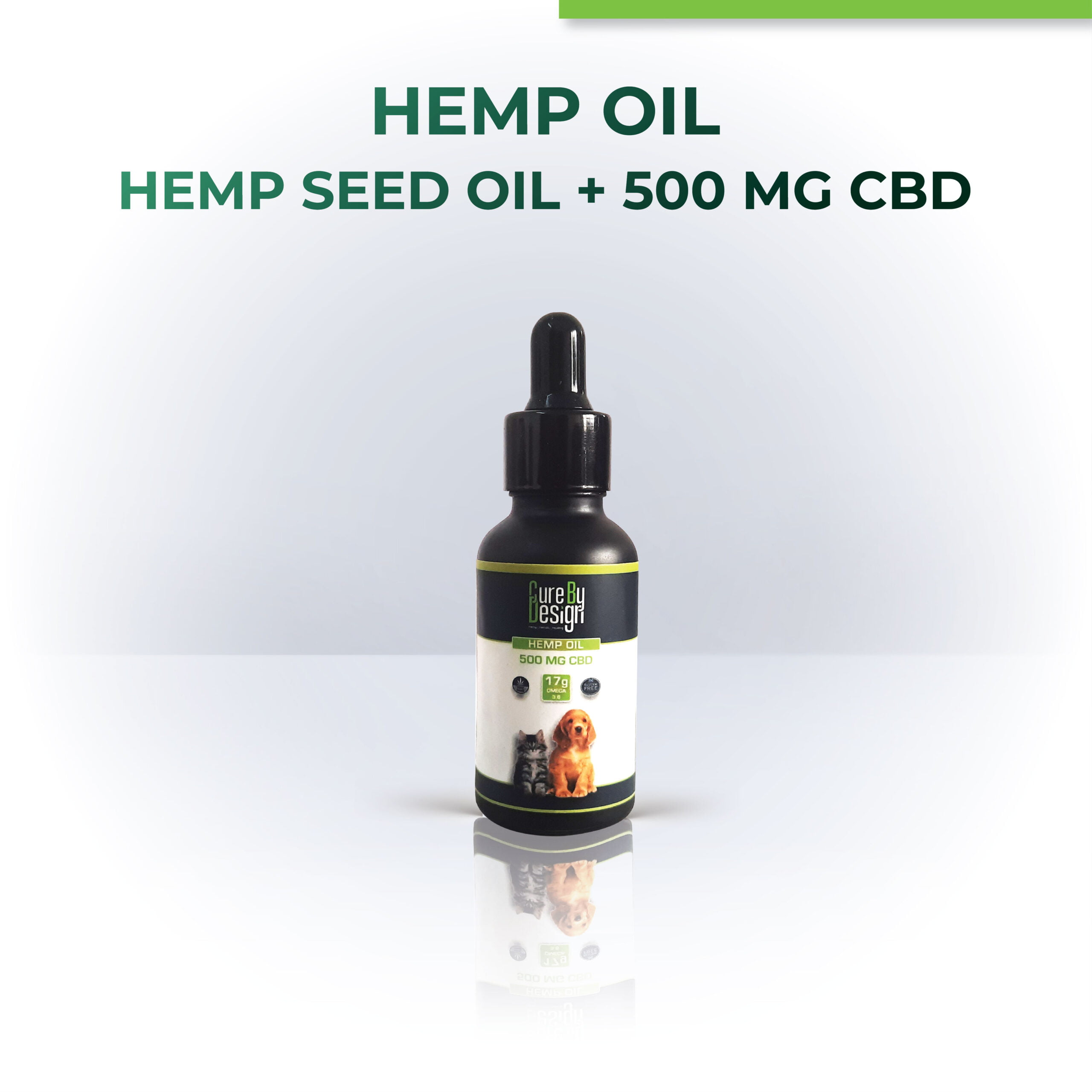 Hemp Oil for Pets with 500mg CBD