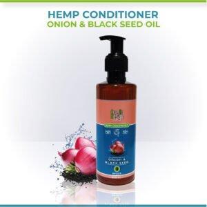 Hemp, Black Seed Oil & Onion Conditioner
