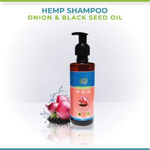Hemp, Black Seed Oil & Onion Shampoo