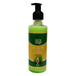 Hemp & Avocado Oil Face Wash