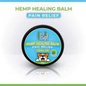 Hemp Healing Balm – Pain Relief (100mg CBD)