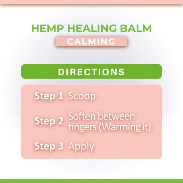 hemp healing balm