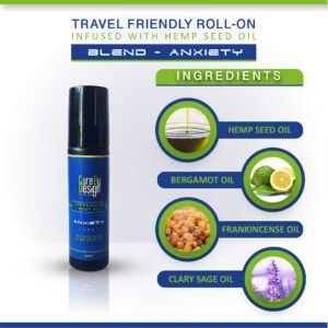 Anxiety – Travel Friendly Roll On (10ml)