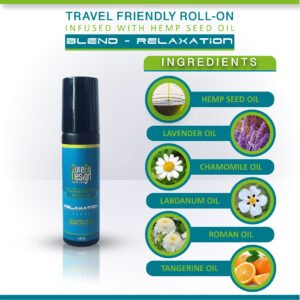 Relaxation – Travel Friendly Roll On (10ml)